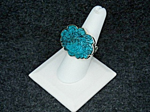 Amy Khann Russell Turquoise Sterling Silver Ring (Image1)