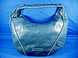 Green Leather Large Shoulder Bag By Christopher Kon