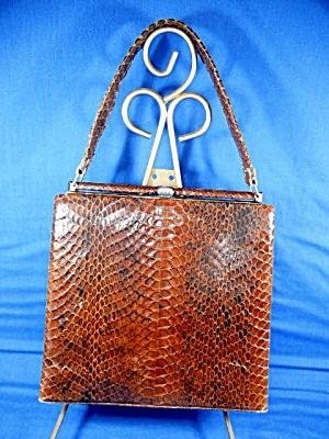 Snake skin Vintage 50s  Bag  (Image1)