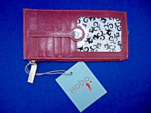 Hobo International Metro Slide Credit Card Magenta