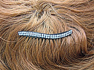 Lilac Blue Crystal Hair Comb (Image1)