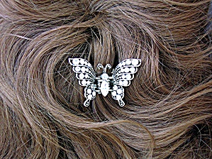 Crystal Butterfly Hair Clip (Image1)