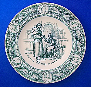 Wedgewood Collectors Plate, story of Ivanhoe, Urfried . (Image1)