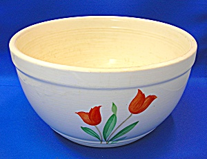 Knowles Utility Ware 10 inch Porcelain Bowl . . . . (Image1)