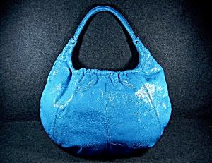 HOBO International Turquoise large handbag (Image1)