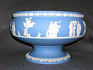 """Wedgewood Jasperware 8 ¼"""" Imperial Bowl. (Image1)"""