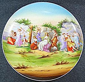 Porcelain Charger Angelica Kauffmann Victoria Austria (Image1)