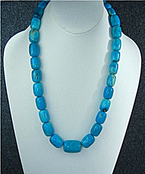 Turquoise Necklace, Graduated