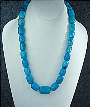 Turquoise Necklace, graduated  (Image1)