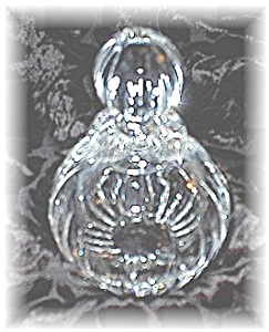 Crystal Perfume Bottle 5 Inches Tall