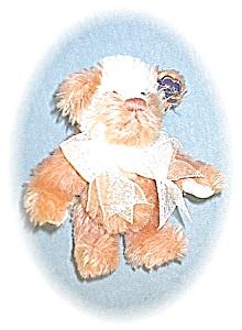 PeachChampagne & Cream Annette Funicello Bear (Image1)