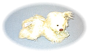 Annette Funicello Lemon 100% Mohair Dog 8 Inch (Image1)