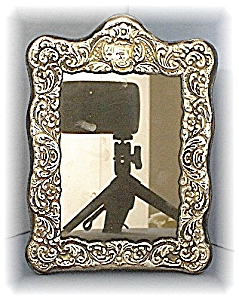 Ornate Silver Photograph Frame. (Image1)