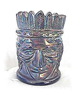 Irridescent Blue Indian Tooth Pick Holder (Image1)
