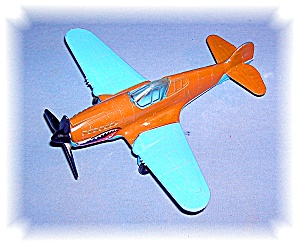 Metal Flying Tiger Tootsie Toy Aeroplane (Image1)