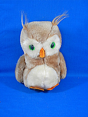 Daikin Owl Stuffed Weighted Toy 7 Inches 1975
