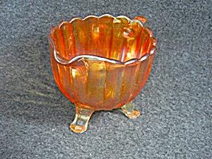 Carnival Imperial Glass Orange Creamer 60s  (Image1)
