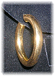 Earrings 14K Yellow Gold Hoop (Image1)
