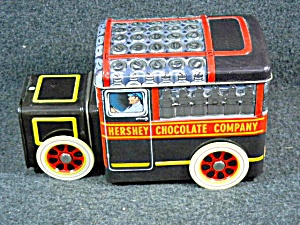 Hershey Chocolate Company Collectible Tin Truck (Image1)