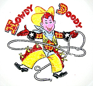 Howdy Doody Taylor Smith Usa Childs Plate
