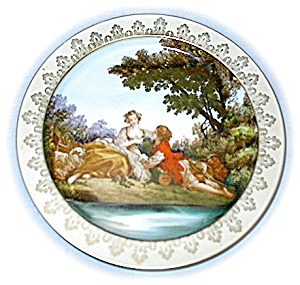Hand Painted Signed Plate Made In Japan (Image1)