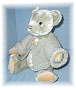 GUND Mint Green Beth Bear1999 Mohair 15 Inch (Image1)