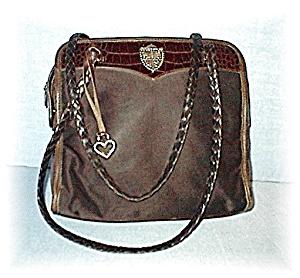 Brighton Leather & Micro Fibre Bag (Image1)