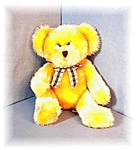 English Golden KIPLING Russ Berrie Teddy Bear (Image1)