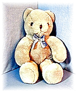 Soft Blue 'Golden Bear' Teddy Bear (Image1)