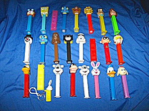 LOT of PEZ dispensers - 25 in the lot. (Image1)