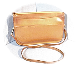 Tan Leather Shoulder Bag/handbag