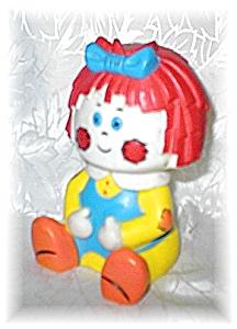 Raggedy Ann Rubber squeek Doll (Image1)
