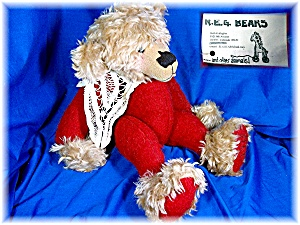 Handmade Mohair and wool 16 inch Teddy Bear #426 (Image1)