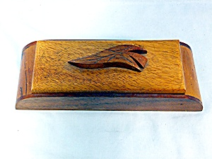 Hand made wood trinket box (Image1)