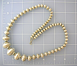 Native American Navajo Pearls Sterling Silver USA (Image1)