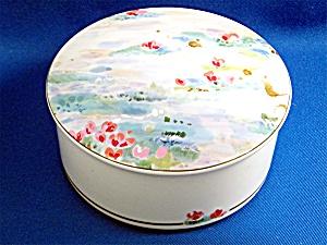 Mikasa Maxima Porcelain Lidded Trinket jar Monet (Image1)