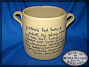 MOIRA Pottery Co. LTD. Bean Pot Made in England (Image1)