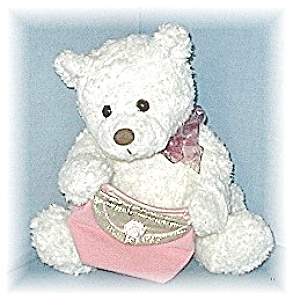 16 Inch Gund Bear With Pink Gift Bag