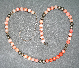 Sterling Silver Ocean Jasper Coral Usa