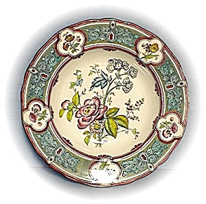 Lovely Antique English Soup Plates/bowls (Image1)