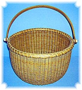 Basket Hand Made Nantucket  Signed JK (Image1)