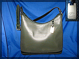 Dooney & Bourke large hobo Cabrio leather - Green (Image1)