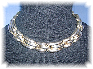 Necklace Mexican Sterling Silver 83.3 Gram   (Image1)