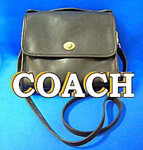 Coah Leather Black Hand Shoulder Bag