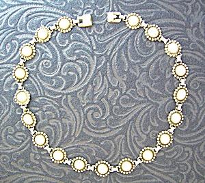 Sterling Silver Balls Vintage 16 inch necklace (Image1)