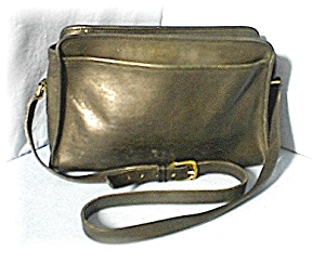 Bag Black COACH Leather Shoulder (Image1)