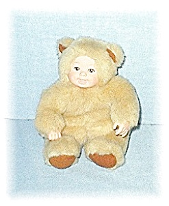 8 Inch ANNE GEDDES Fur Baby Doll (Image1)
