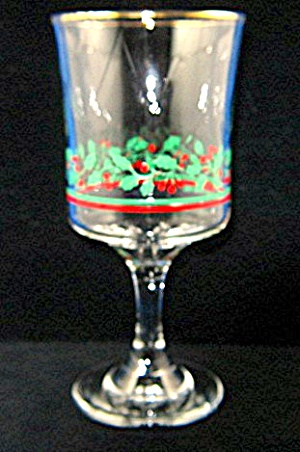 1985 Arby's Christmas Collection Stemware (Image1)
