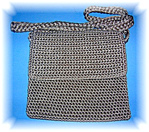 Small Taupe SAK Cord Bag (Image1)