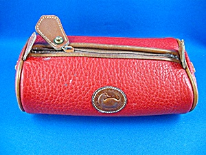 Dooney And Bourke Red Makeup Bag
